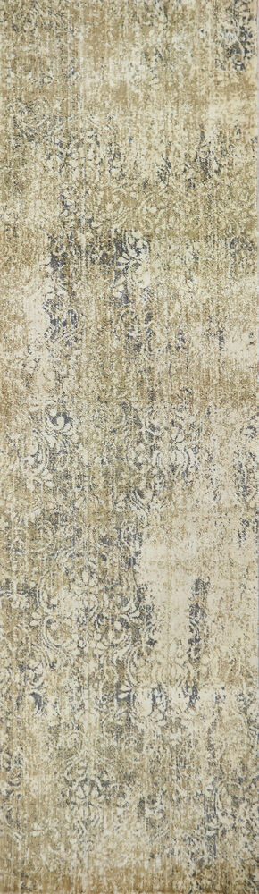 Transitional Power-Loomed 5 x 8 Rectangle Rug in Beige