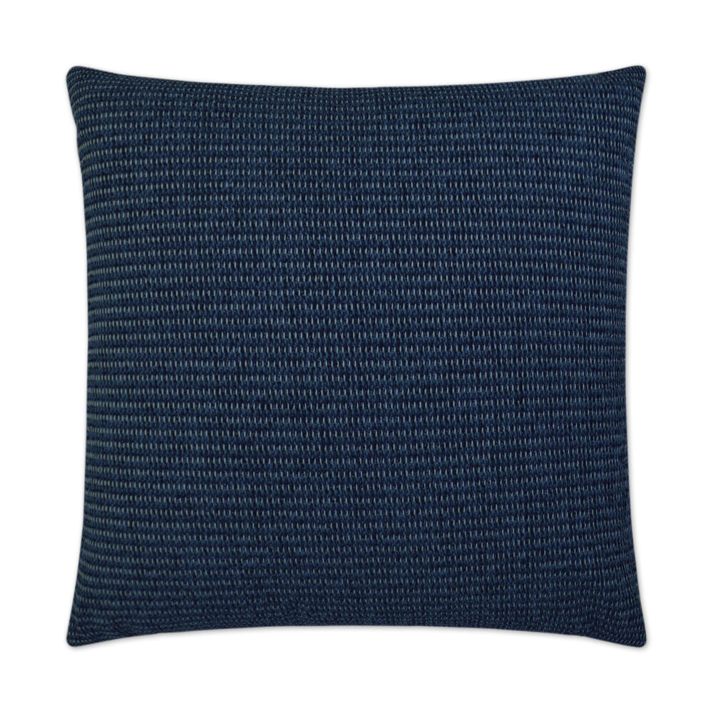 Entwine Pillow in Navy Blue