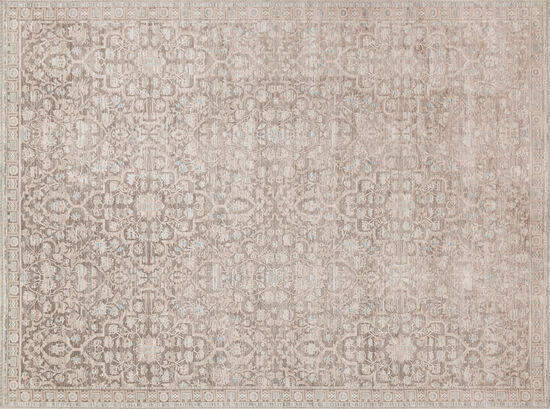 "Magnolia Home Power Loomed 5'3''x7'6"" Rug in Pewter"