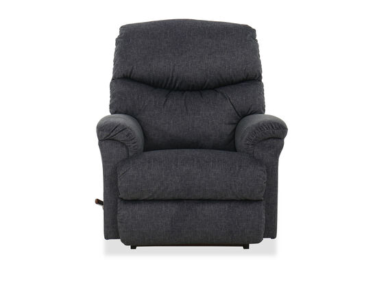 Casual 37'' Swivel Rocking Recliner in Marine