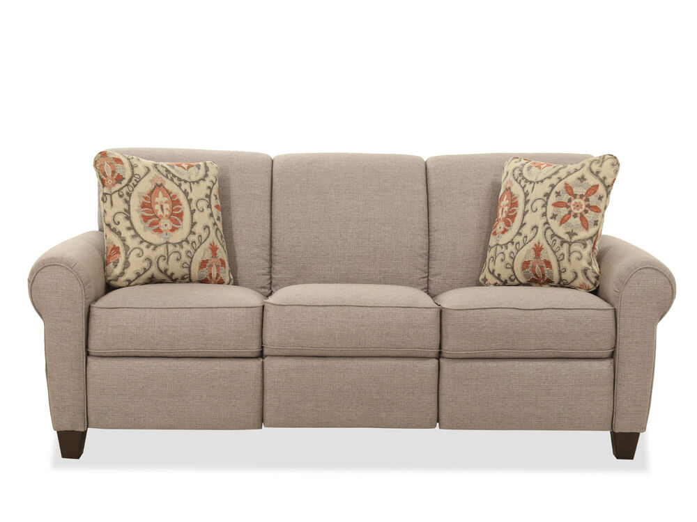Casual 82 5 Roll Arm Sofa In Storm