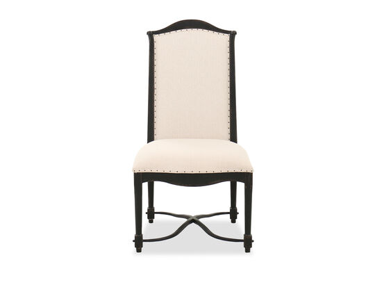 """Casual 43"""" Armless Dining Chair in Oatmeal"""