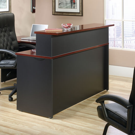"59.5"" EverSheen-Coated Top Casual Reception Hutch in Classic Cherry"