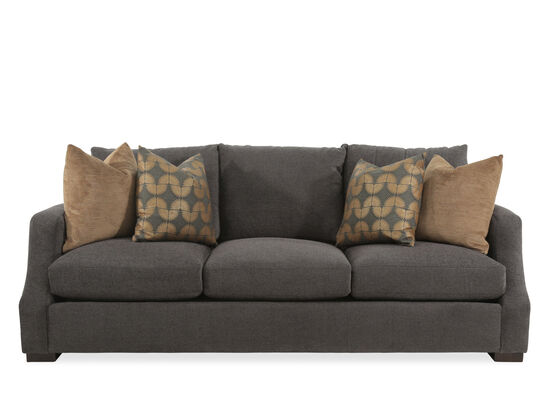 "Casual 89"" Sofa in Gray"