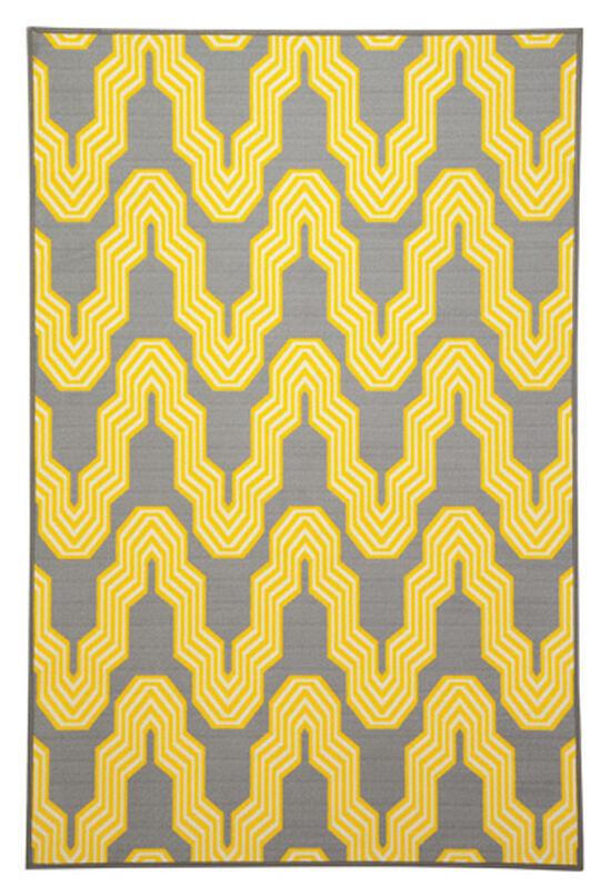 Ashley Nimat Yellow Medium Rug