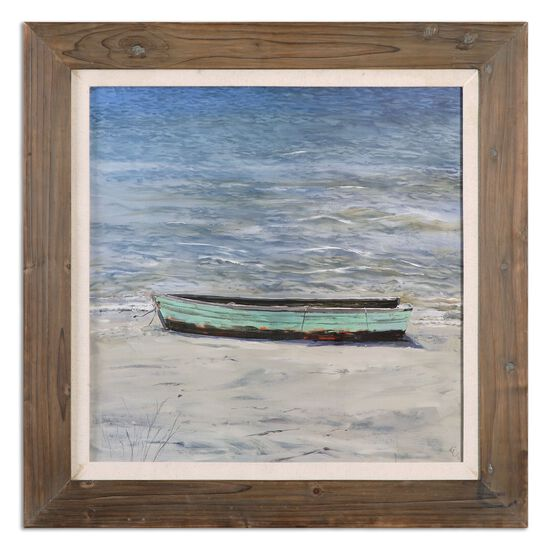 Framed Boat Printed Wall Art