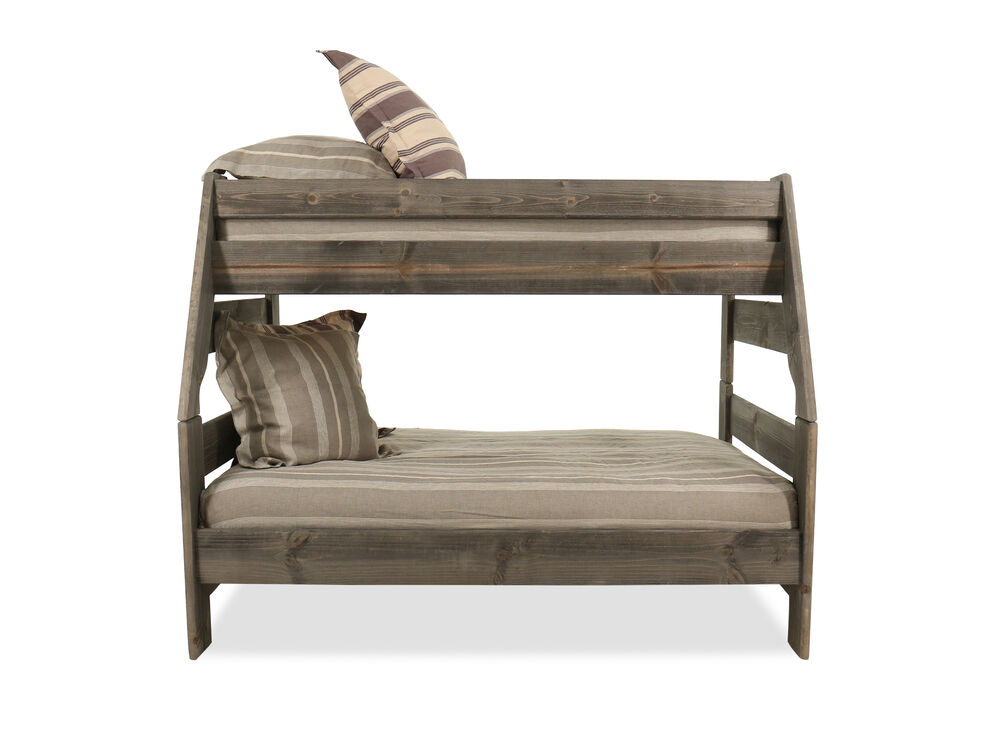 Casual Youth Bunk Bed in Gray