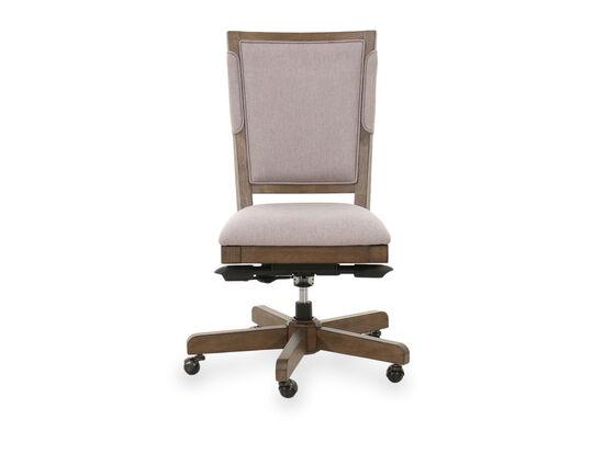 Mid-Century Modern Office Chair in Beige