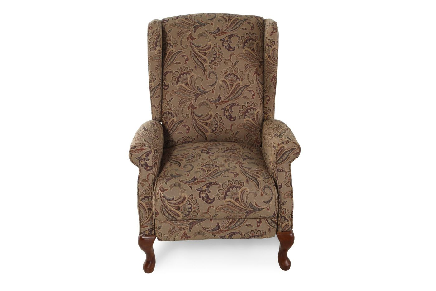 Contemporary Floral Printed 29 5 Quot Recliner Mathis