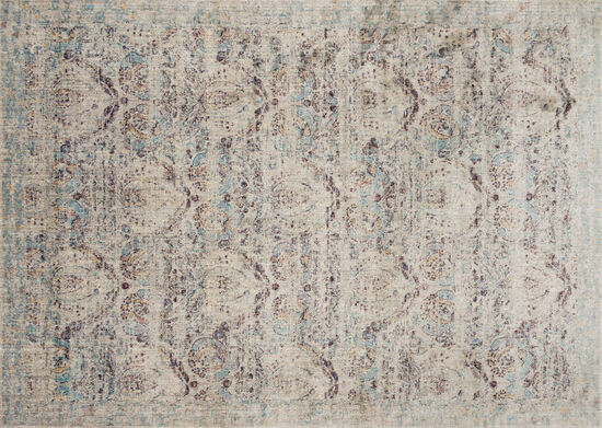 Loloi Power Loomed 5'3''x7'8'' Rug in Silver/Plum