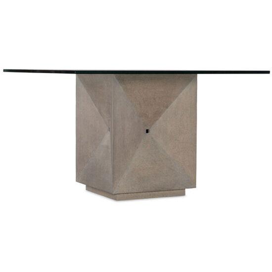 "Miramar Carmel Delmar 48"" Square Dining Table in Gray"