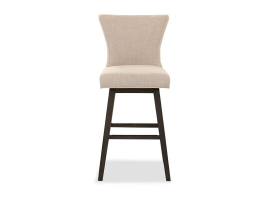 Transitional Bar Stool in Beige