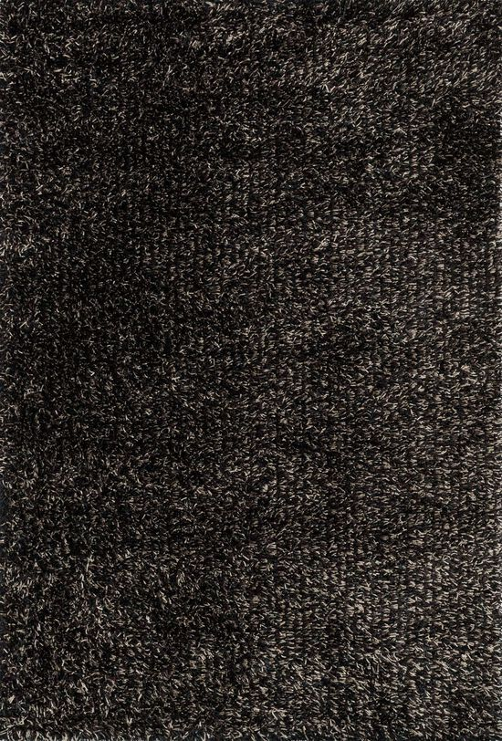 """Shags 5'-0""""x7'-6"""" Rug in Charcoal"""