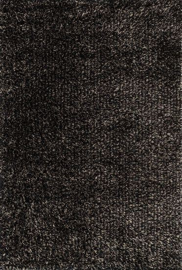 """Shags 3'-6""""x5'-6"""" Rug in Charcoal"""