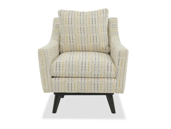 """Striped Casual 31"""" Swivel Chair"""