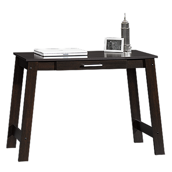 """44"""" Casual One-Drawer Writing Table in Cinnamon Cherry"""
