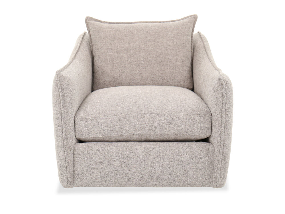 Casual Swivel Chair in Gray
