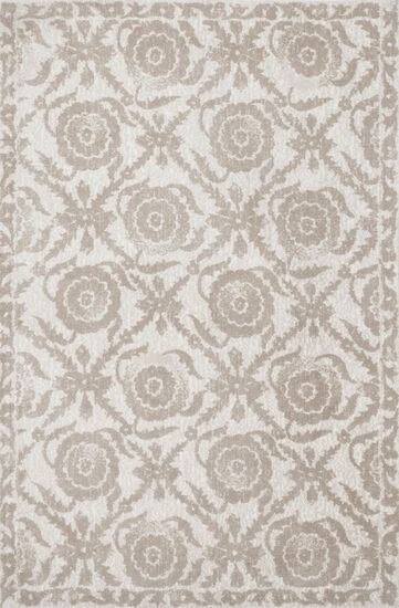 "Transitional 3'-6""x5'-6"" Rug in Beige"