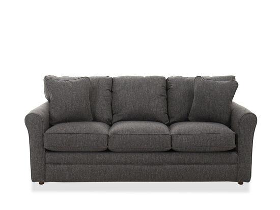 "Casual 82"" Queen Sleeper Sofa in Charcoal"