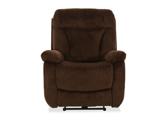 Casual 37'' Power Recliner in Brown