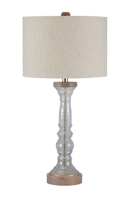 Casual Glass Table Lamp