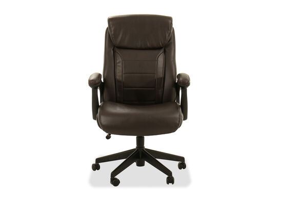 Casual Executive Chair in Brown
