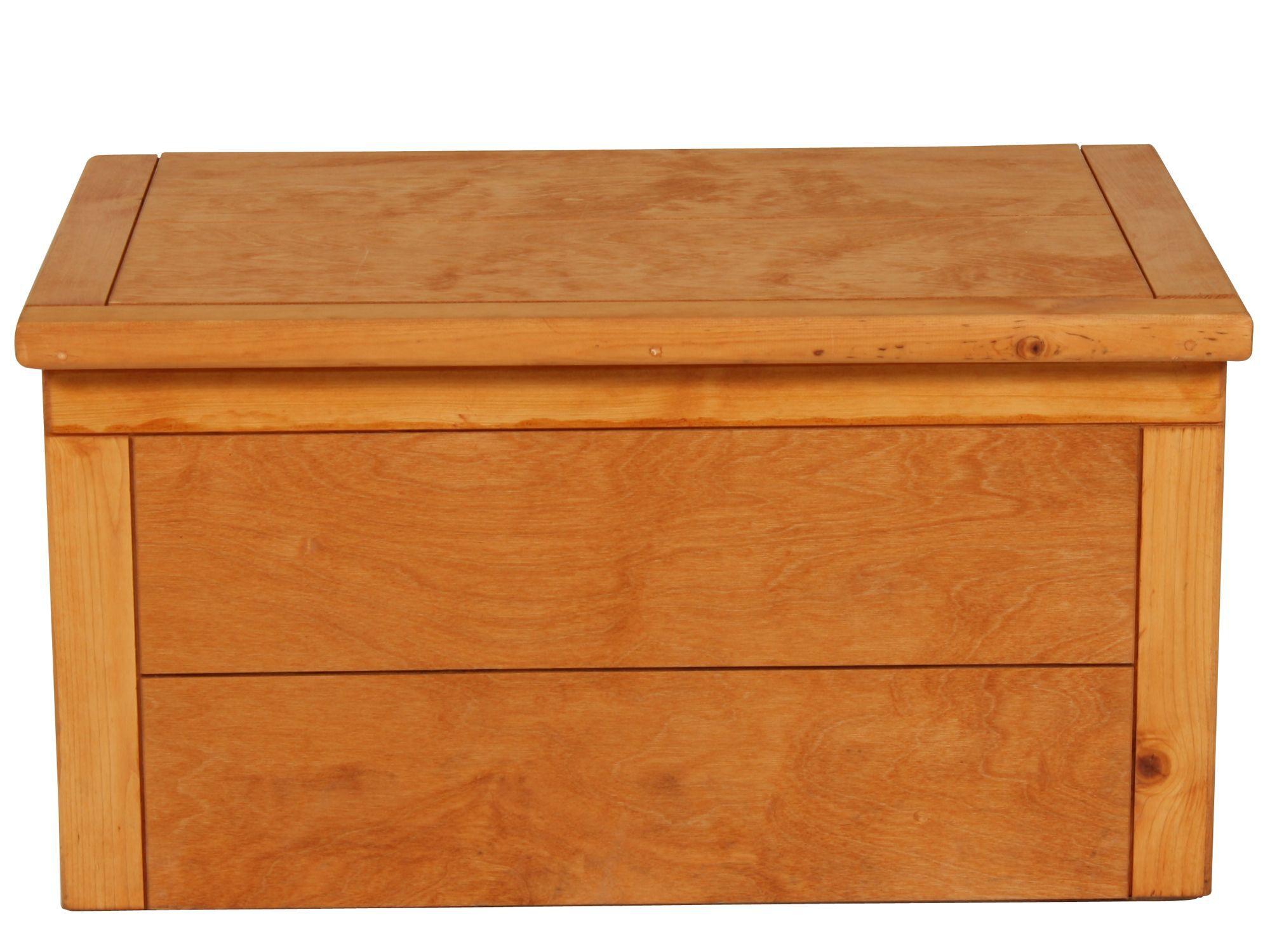 Kids Storage Cube Organizer Toy Box Kids Bedroom Furniture: Solid Pine Toy Chest In Cinnamon