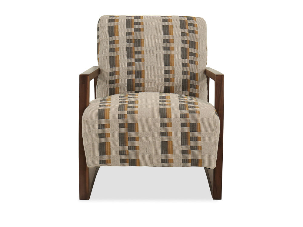 "28"" Casual Accent Chair in Beige"