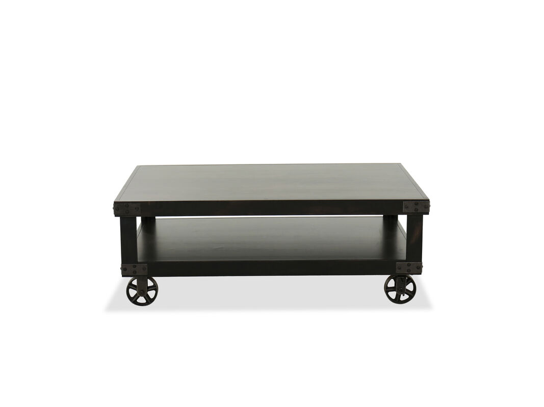 Ghost Black Cocktail Table Mathis Brothers Furniture