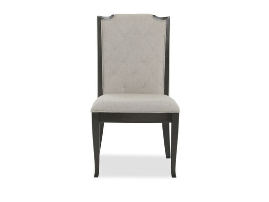 "Tufted 21"" Side Chair in Beige"