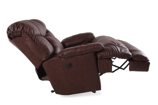 Zero Gravity Contemporary 40 Power Recliner In Dark Brown Mathis Brothers Furniture