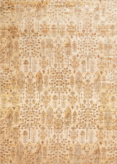"Transitional 2'-7""x8'-0"" Rug in Ant Ivory/Gold"