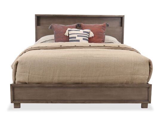 """56"""" Contemporary King Bed in Brown"""
