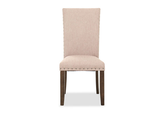 Rustic Farmhouse Dining Chair in Brown