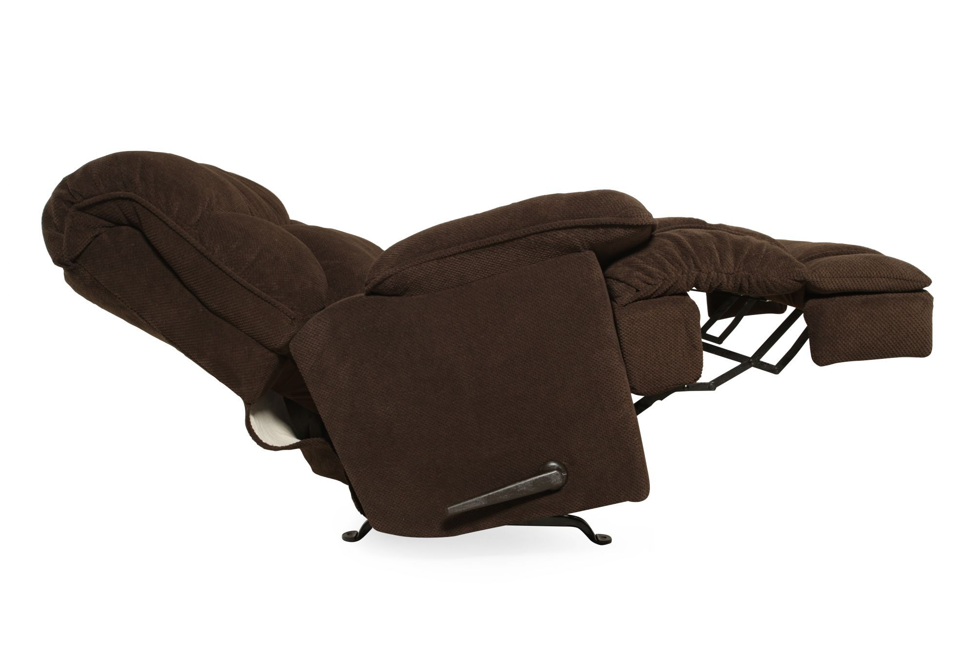 Zero Gravity Casual 40 Massage Recliner In Deep Chocolate Mathis Brothers Furniture