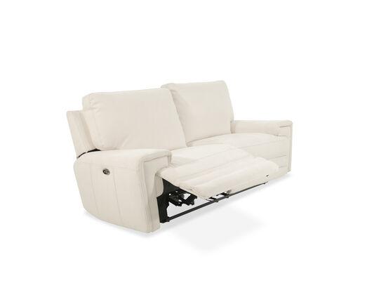 "89"" Power Reclining Sofa in Chalk"