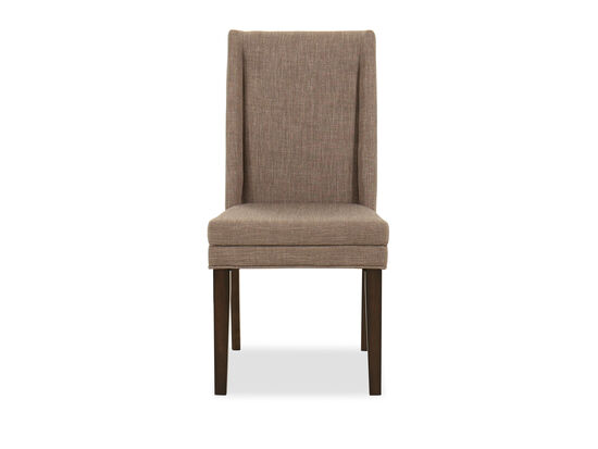 Casual Side Chair in Brown