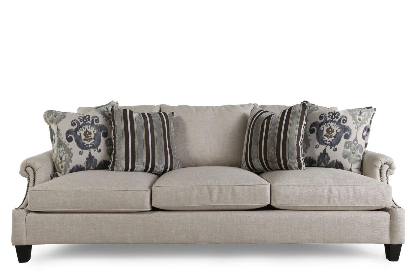 White Sofa from Bernhardt