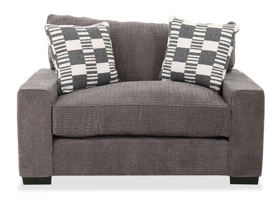 """62"""" Casual Chair in Gray"""