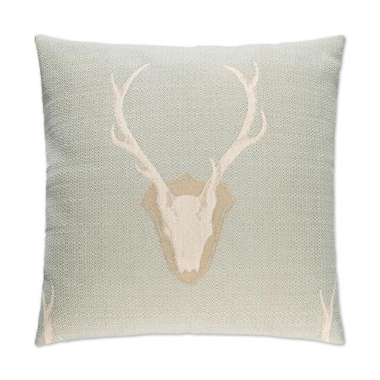 Uncle Buck Pillow in Seafoam Green