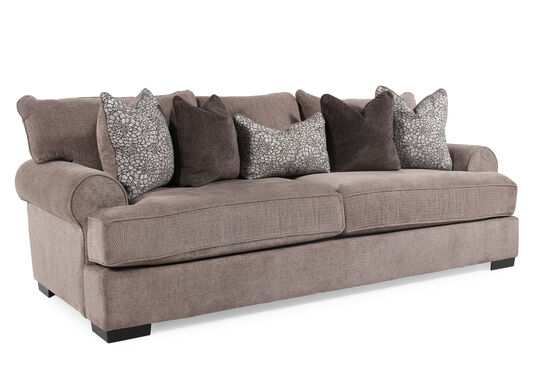 "Low-Profile 96"" Sofa in Gray"