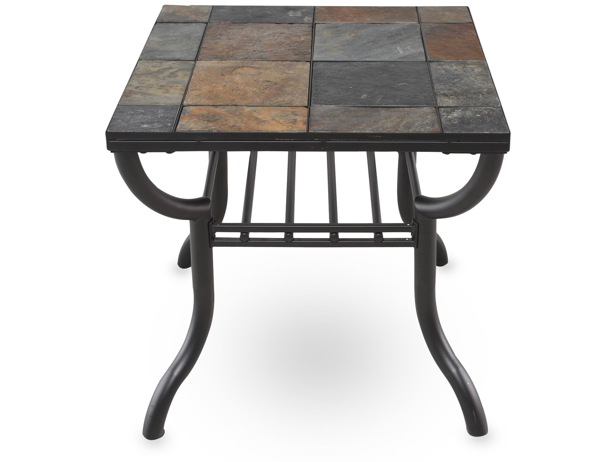 Images Square Slate Tiled Contemporary End Tableu0026nbsp;in Gunmetal Square  Slate Tiled Contemporary End Tableu0026nbsp;in Gunmetal