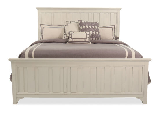 "64"" Casual King Bed in Chalk"