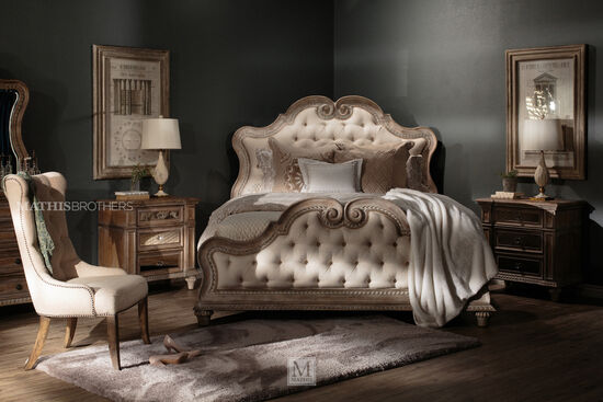 Pulaski Arabella Upholstered King Panel Bed