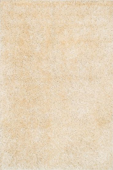 "Shags 3'-6""x5'-6"" Rug in Ivory"