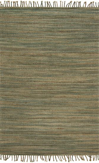 "Contemporary 7'-9""x9'-9"" Rug in Lagoon"