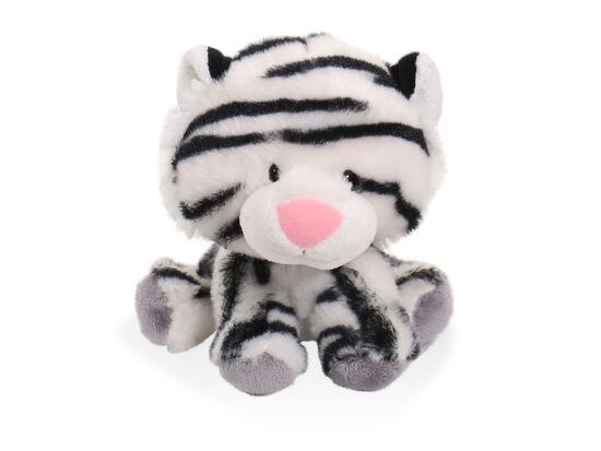 "6"" Wobbly Bobblee Plush White Tiger Toy"
