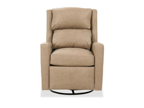 "Formal 30"" Swivel Glider Recliner in Bisque"