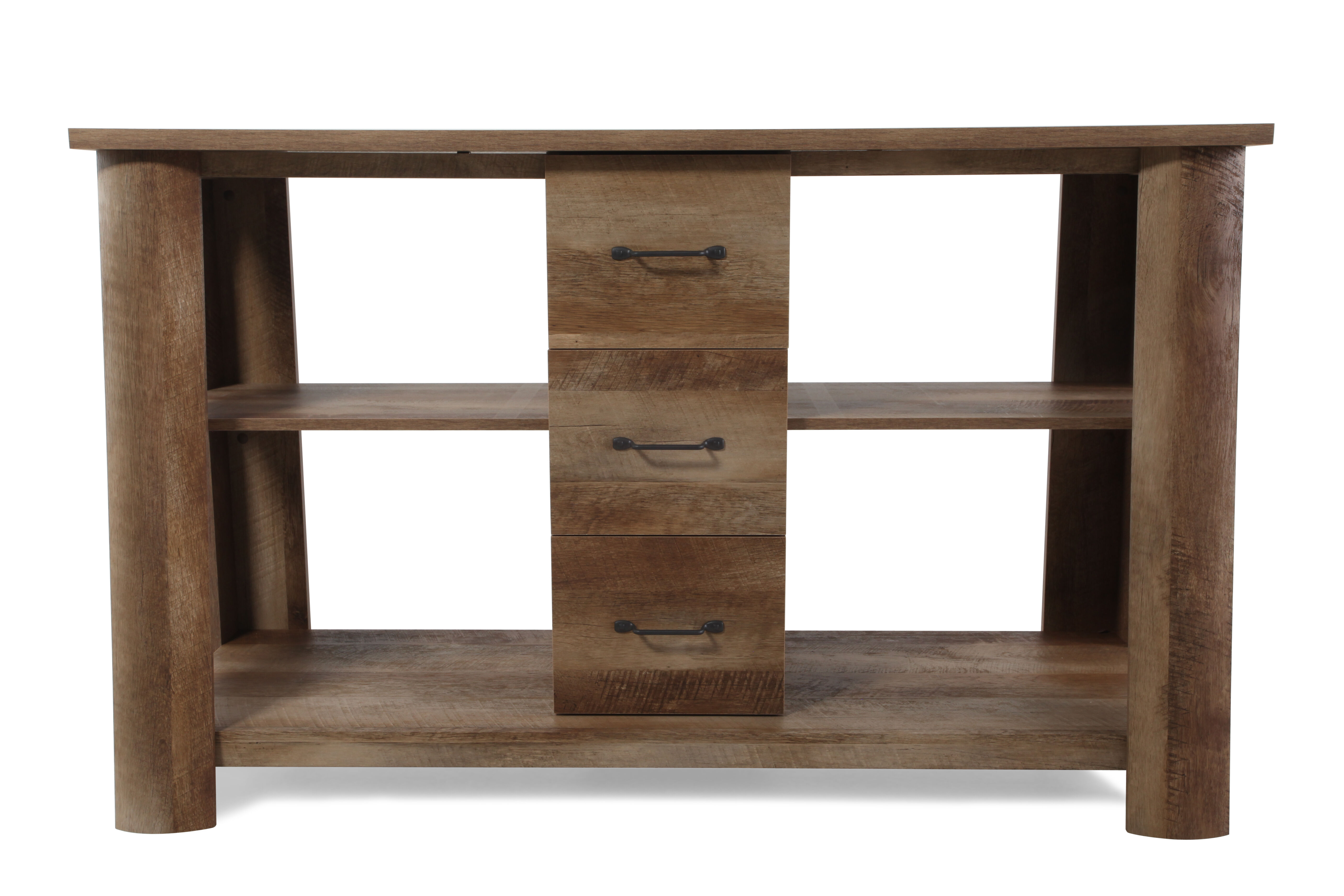 Dark Wood Tv Credenza : Buy a hand made industrial tv stand reclaimed wood steel