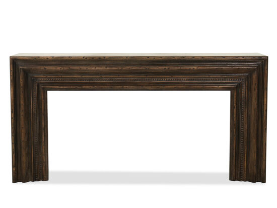 Casual Hall Console in Dark Wood